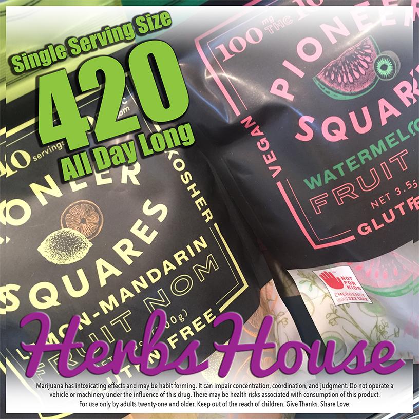 Craft Pioneer Squares Herbs House 420