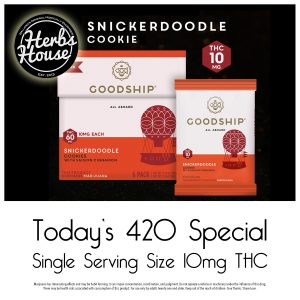 420 GoodShip Snickerdoodle Herbs House