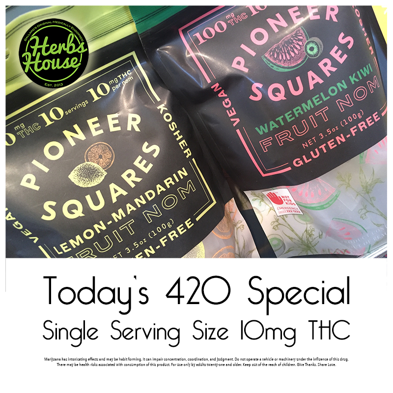 Craft Pioneer Squares Herbs House 420