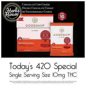 Goodship Cookies Herbs House 420