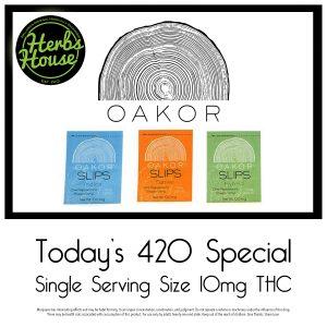 Oakor Breath Slips Herbs House 420 Special