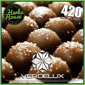 Herbs House 420 Special Verdelux Caramelo Truffle 1:1 CBD