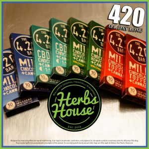 Herbs House Evergreen Herbal 420 Special Chocolate Bars