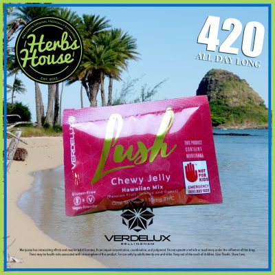 Herbs House 420 Verdelux Lush Hawaiian Mix Gummy Chew