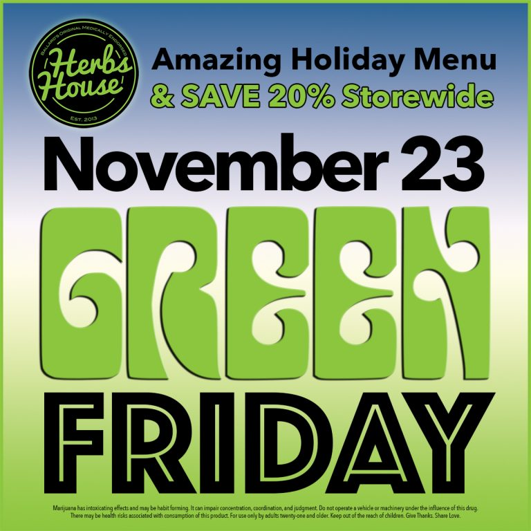 Herbs House SAVE 20% Green Friday