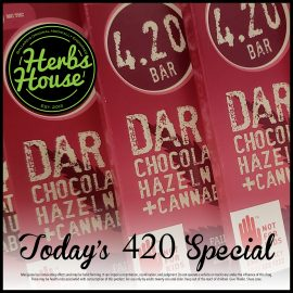 Everyday is 420 – Today's Special