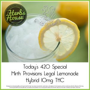 Mirth Lemonade Herbs House 420 Special