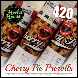 Herbs House Cherry Pie PreRoll 420 Special