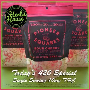 Herbs House 420 Special Craft Pioneer Square Cherry