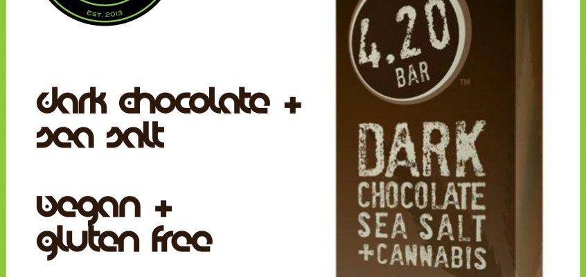 Dark Choc Sea Salt Herbs House 420