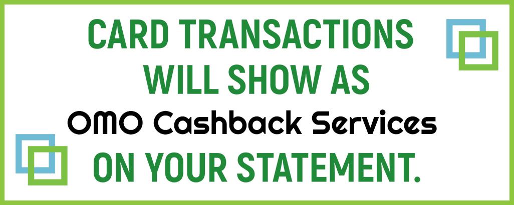 OMO Cashback Services
