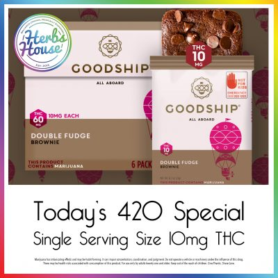 Goodship Double Fudge Herbs House 420 Special
