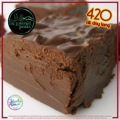 Chocolate Fudge - Herbs House 420