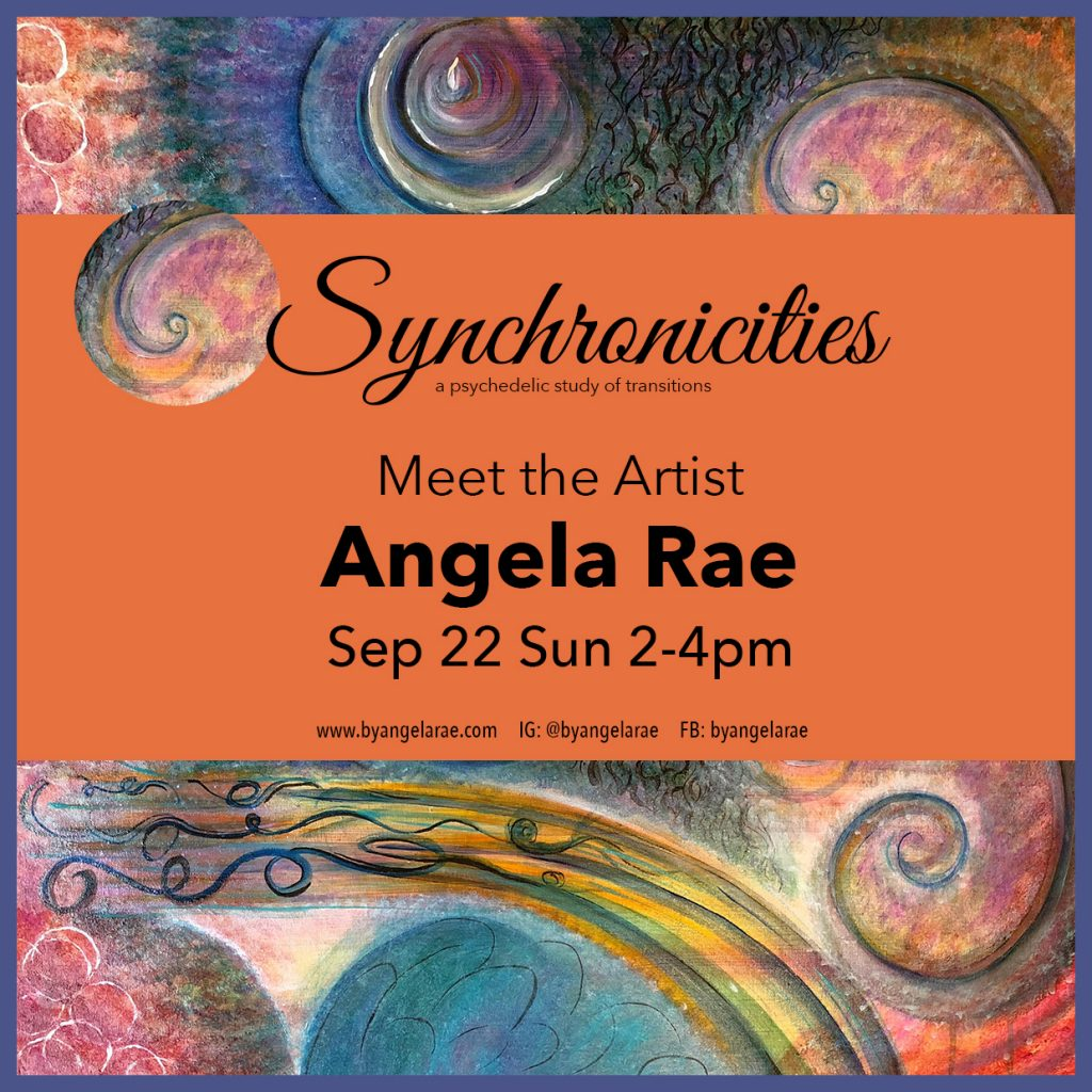 Herbs House Meet the Artist Angela Rae Sep 2019