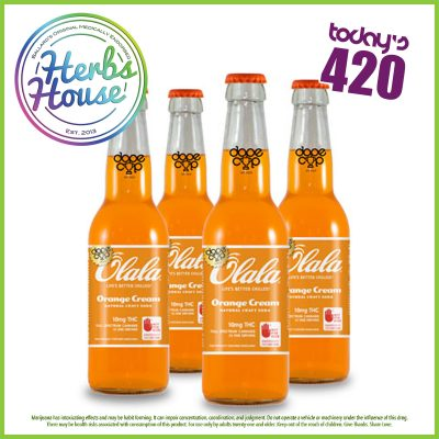 Herbs 420 Special Olala Orange Soda