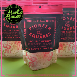 Pioneer Squares Sour Cherry 10Pack