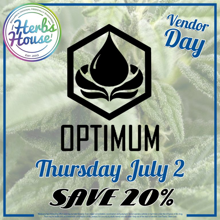 Optimum Vendor Day July 2020