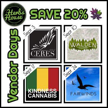 Herbs House September Vendor Days image