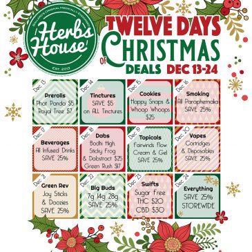 2020 Dec 12 Days of Christmas Deals