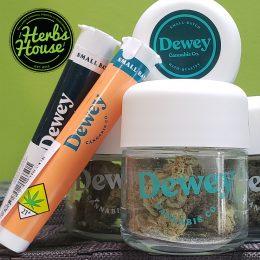 Dewey Cannabis Jar & Joints