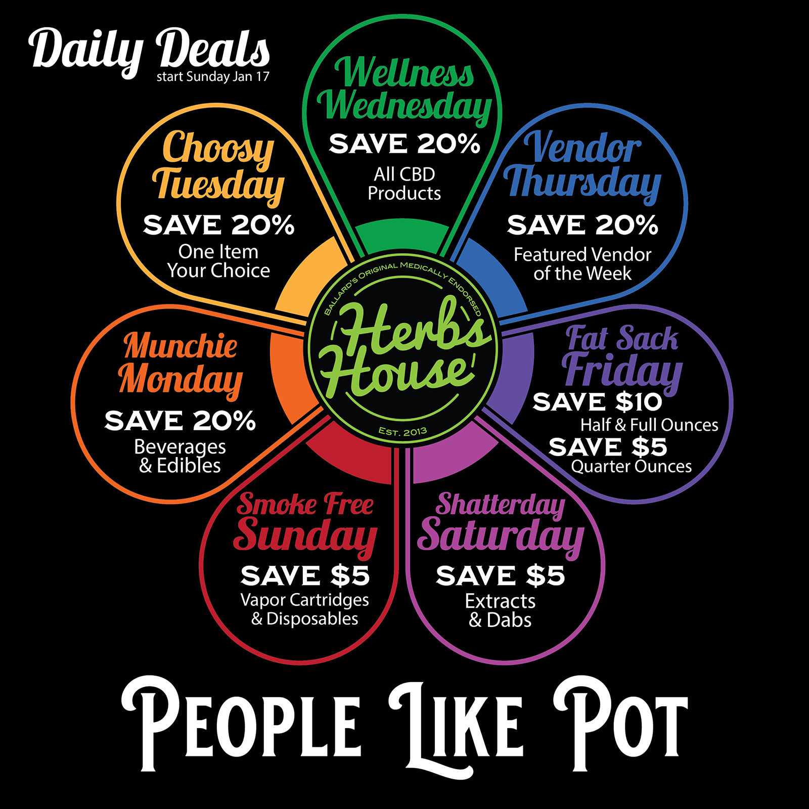 2021 Daily Deals Herbs House