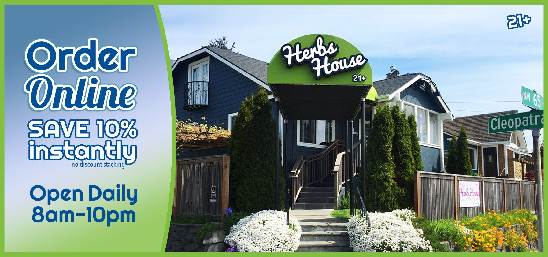 Herbs House Welcome Open 8am-10pm image